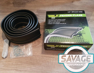 HULK 4x4 Fender Flares 3.5 Inch (89mm) 3m *Savage Performance*
