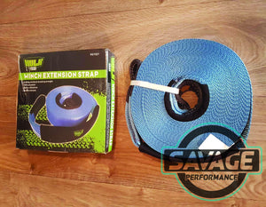 HULK 4x4 Winch Extension Strap 20m *Savage Performance*