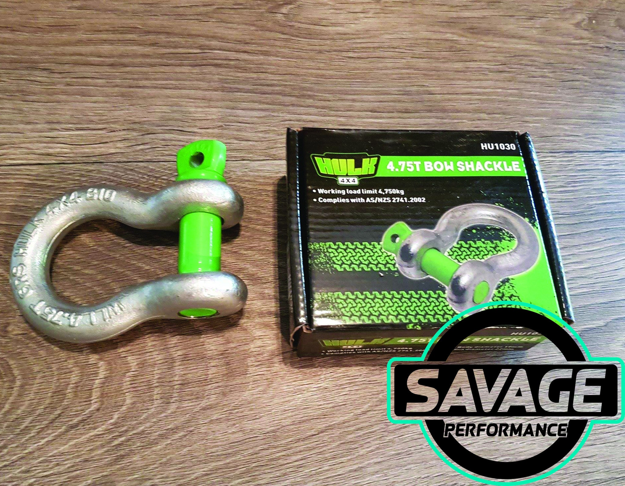 Hulk 4x4 4.75T 4750kg Bow Shackle *Savage Performance*