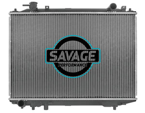 Mazda B Series / Ford Courier 1995-1999 Radiator - MANUAL