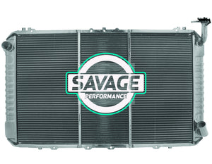 Nissan Safari / Patrol GQ Y60 TB42 PETROL Radiator - 3 ROW - MANUAL