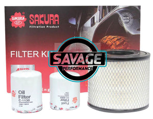 Holden Rodeo RA 4JH1TC 3.0L Turbo Filter Kit - SAKURA