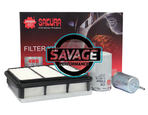 Holden Rodeo RA LCA H9 3.5L V6 Filter Kit - SAKURA