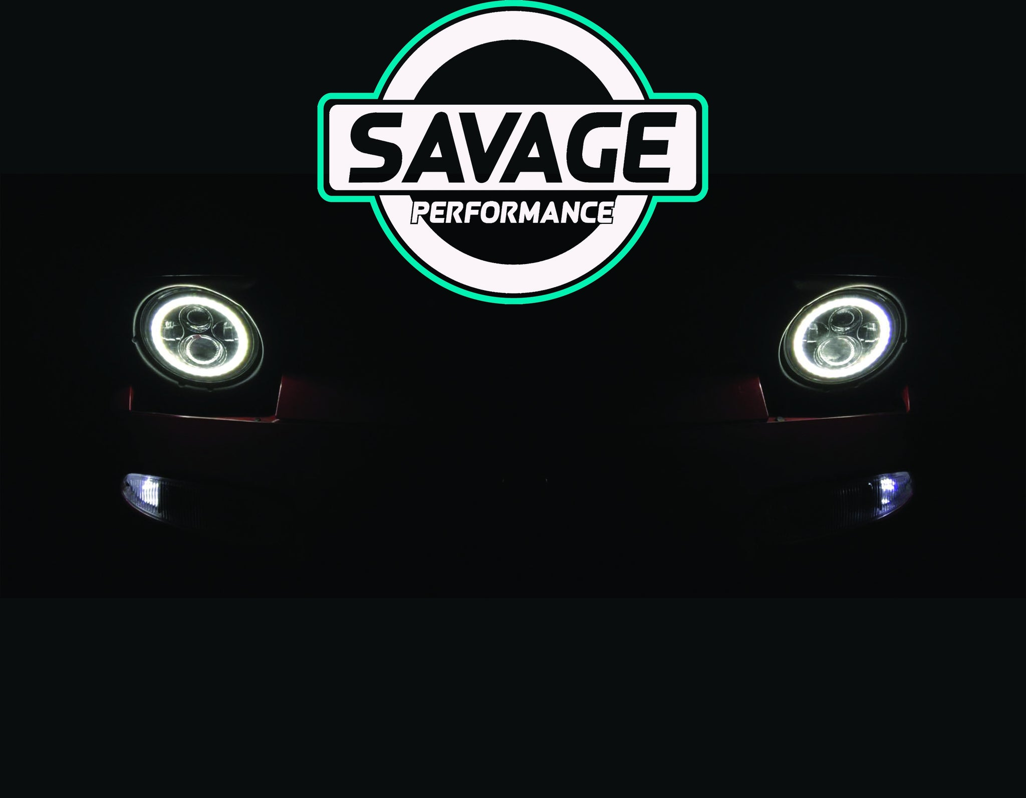 MAZDA MX5 HALO Round LED Headlights *Savage Performance*