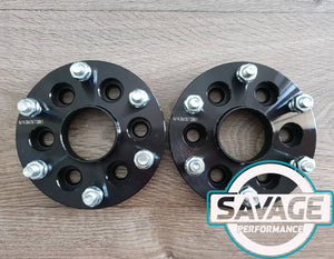 6x114 to 6x139.7 25mm CONVERSION Wheel Spacers NISSAN NAVARA *Savage Performance*