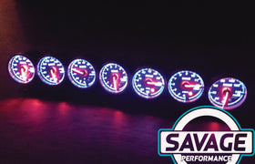 60mm Savage EGT (Exhaust Gas Temperature) Gauge 7 Colours *Savage Performance*