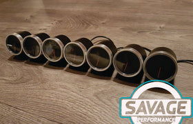60mm Savage RPM (Tacho) Gauge 7 Colours *Savage Performance*