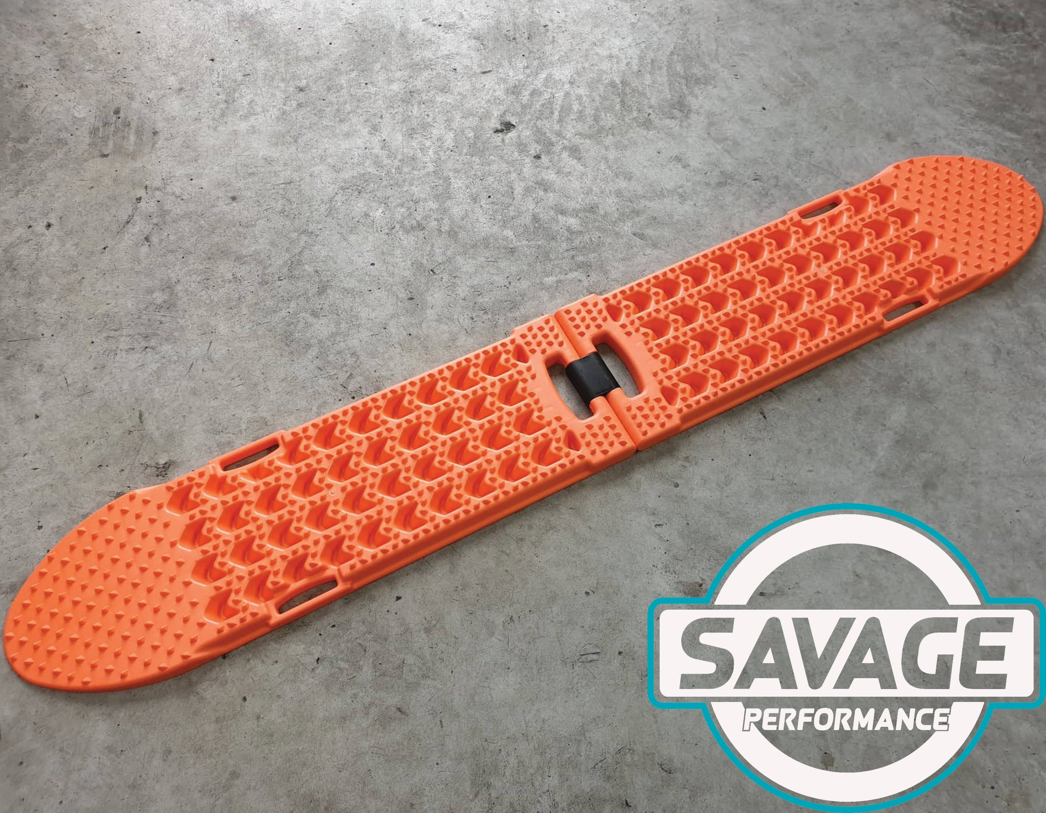 HULK 4x4 Folding Recovery Tracks (ORANGE) *Savage Performance*