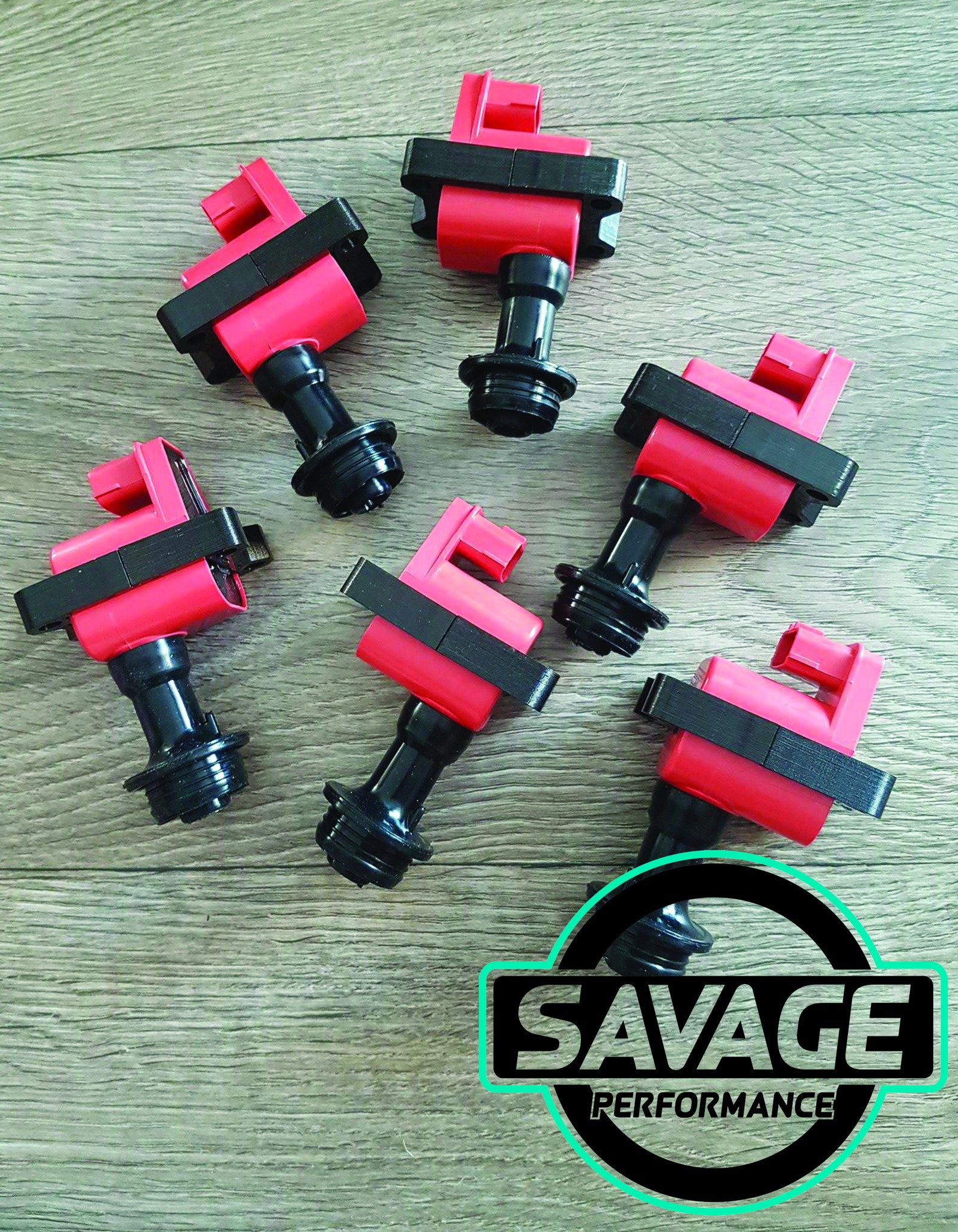 6x RB Series 1 Coilpacks R32 R33 Skyline RB20DET RB25DET RB26DETT 22433-60U02 *Savage Performance*