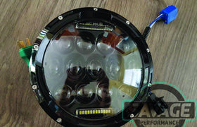 7 Inch Round LED Headlight *Savage Performance*