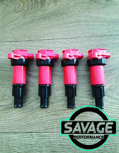 4x SR SR20DET Coilpacks S13 180SX 200SX S14 22448-50F01 *Savage Performance*