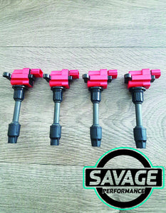 4x SR SR20DET Coilpacks S15 1999-2002 22448-91F00 *Savage Performance*