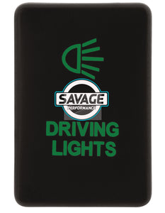 Jaylec - Driving Lights Switch - GREEN - Hilux GUN Series (2015 on)
