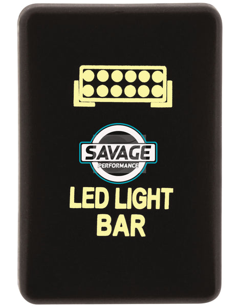Jaylec - LED Light Bar Switch - AMBER - Hilux GUN Series (2015 on)