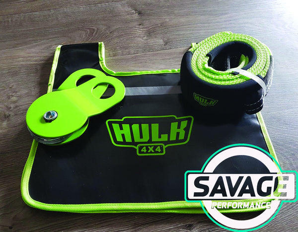 HULK 4x4 Winching Combo Pack