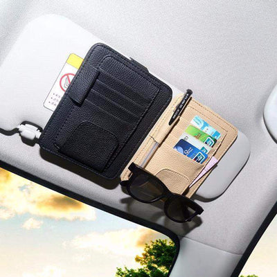 Card and Glasses Car Holder