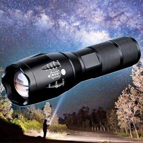 Super Power Rechargeable Flashlight