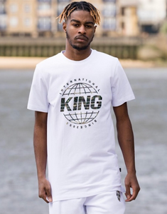 King Apparel Bethnal T-shirt - White