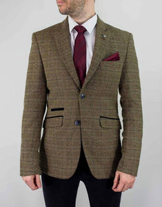 Cavani ASCARI TWEED SLIM FIT BLAZER