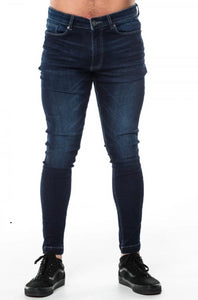 level one indigo denim jean