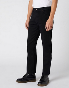 Wrangler TEXAS HEAVYWEIGHT JEANS IN BLACK OVERDYE