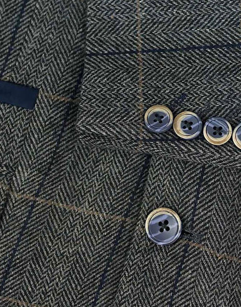 Cavani ALBERT GREY TWEED CHECK Blazer