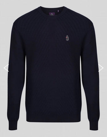 Luke 1977 Price Work Computer Knit Very Dark Navy