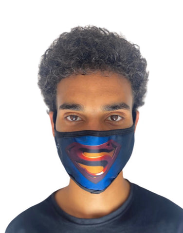 Hidden Mask Superman Novelty