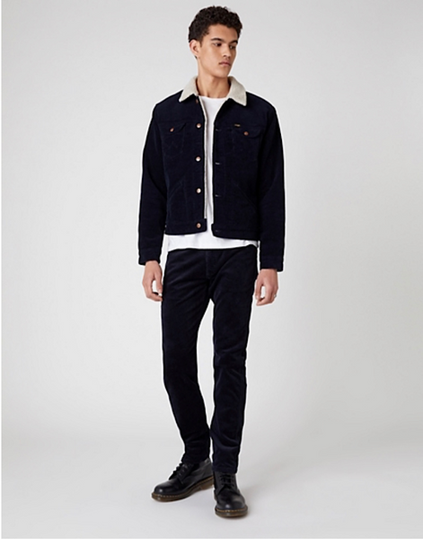 Wrangler ICONS 124MJ SHERPA IN NAVY