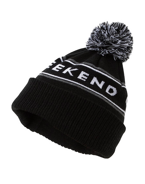 Weekend Offender MOUNTAINS BLACK Bobble Hat