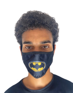 Hidden Mask Batman novelty Black/Yellow