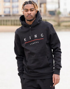King Apparel Staple Tracksuit Hoodie - Black