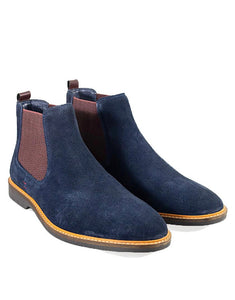 Cavani Arizona Navy Chelsea boot