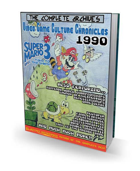 1990 Video Game Culture Chronicles - Hardcover Book