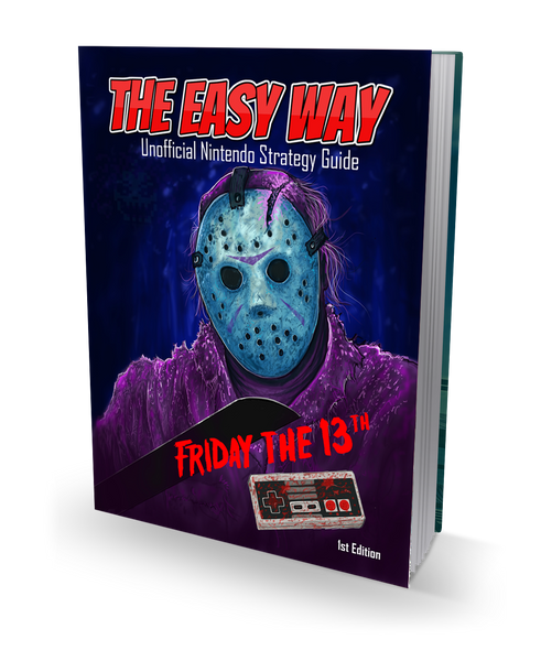 Friday the 13th: The Easy Way Guide - Hardcover Book