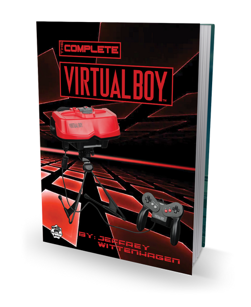 The Complete Virtual Boy - 180 Page Hardcover