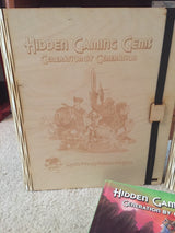 Hidden Gaming Gems - Wooden Book Cover