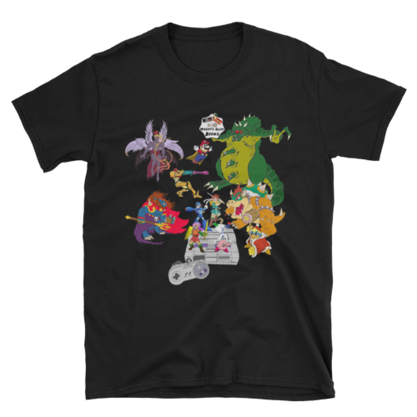 Complete SNES Definitive Edition James Wormull T-Shirt