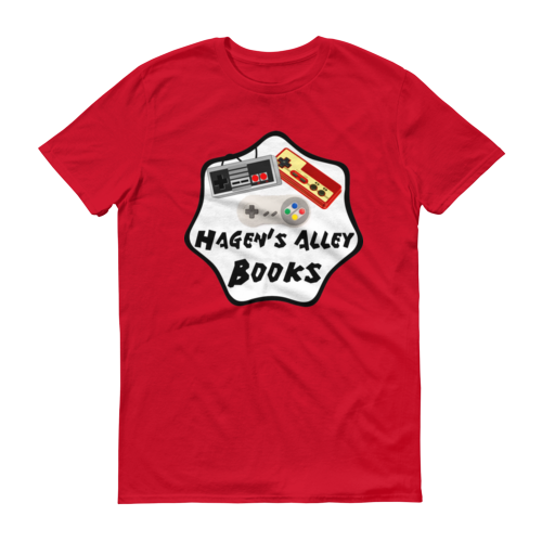 Hagen's Alley Books Logo T-Shirt