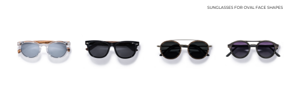 Sunglasses for oval face shapes