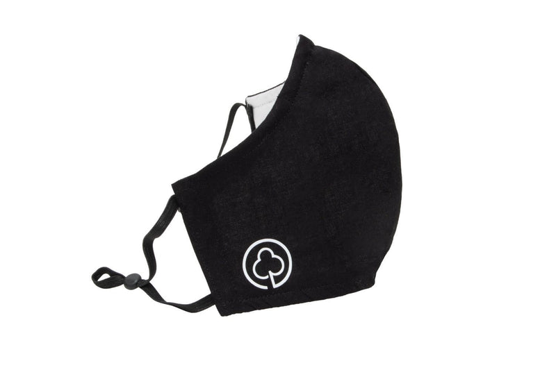 Reusable Cotton Face Mask in Black