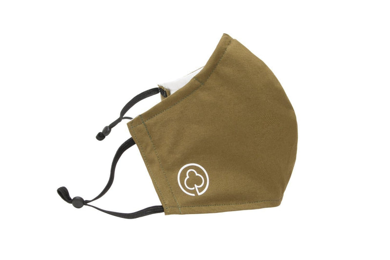 Reusable Cotton Face Mask in Green