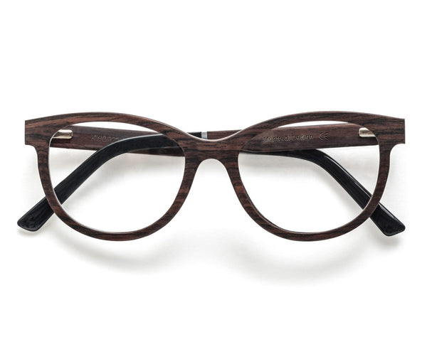 Charm Purple - Cat-Eye Eyeglasses made from Sandal Wood