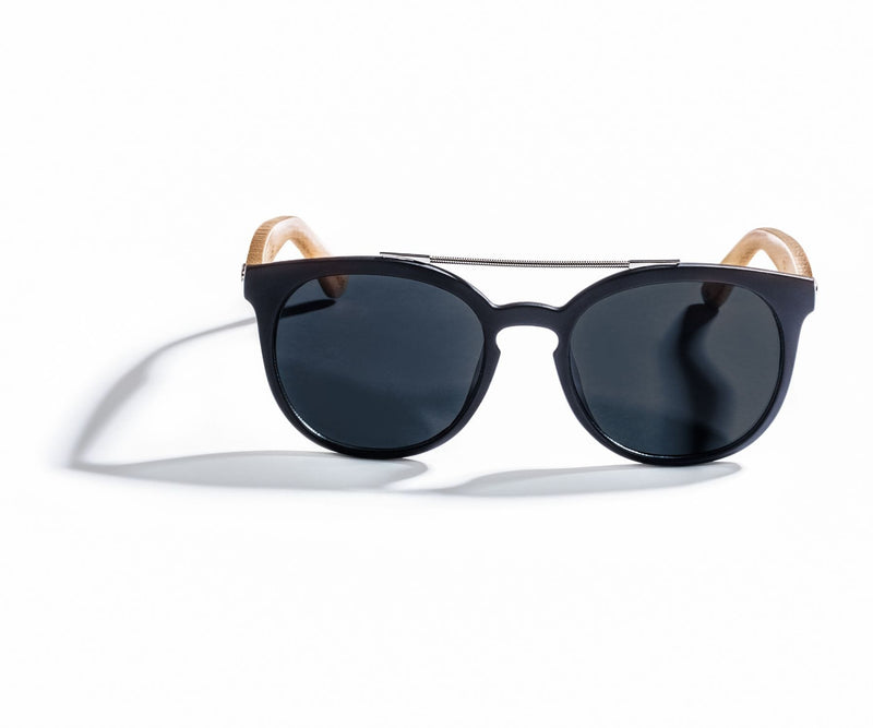 Kraywoods Sienna, Dsquared Sunglasses with double-bridge Featuring Bamboo Arms and 100% UV Protection Lenses