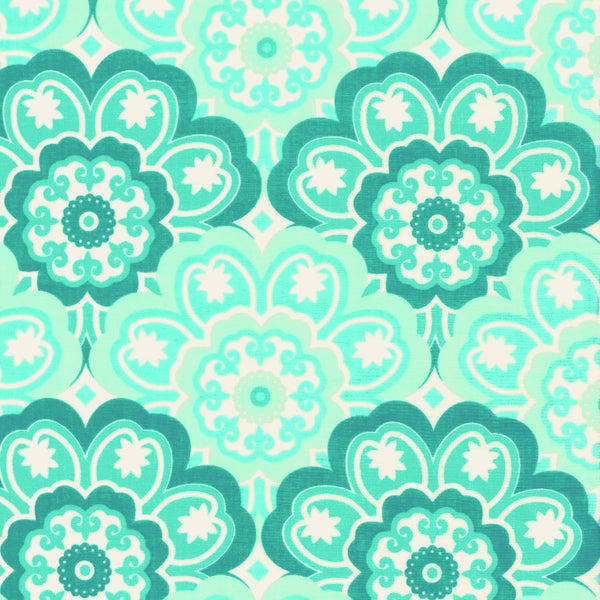 Blossoming Flower Aqua