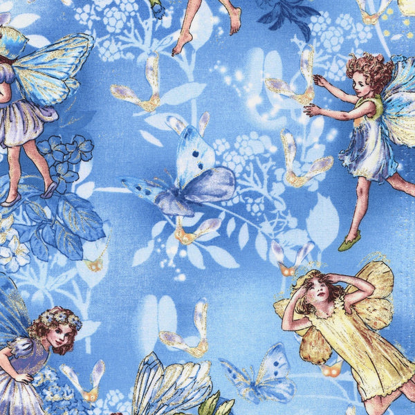 Flower Fairies Sky Blue