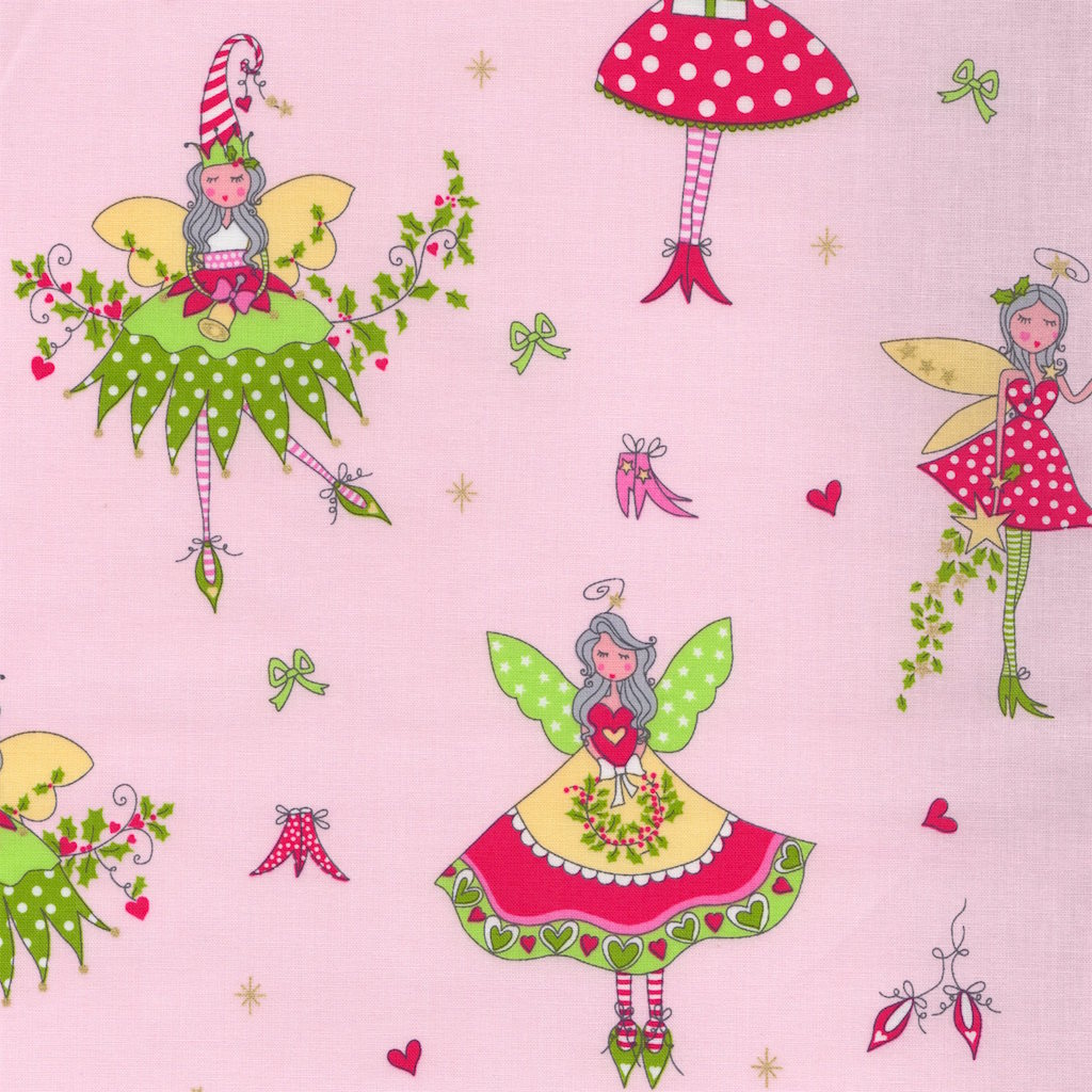 Christmas Fairy Hollywood Pixie Pink