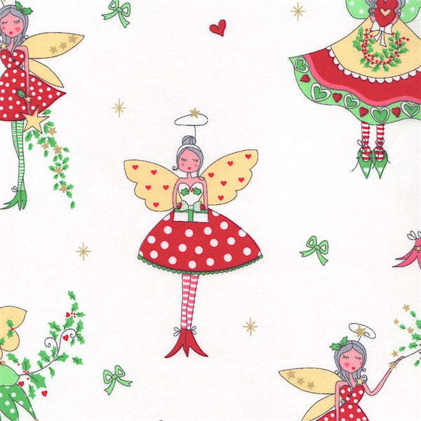 Christmas Fairy Hollywood Pixie Red & White