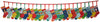 Novelty Icons Christmas Mini Stockings Advent Calendar - Panel