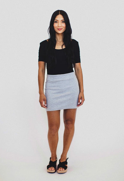 Mabel Knit Skirt Sewing Pattern